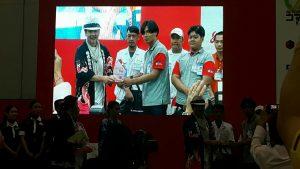 นักศึกษา สทป. สร้างชื่อ คว้ารางวัล SPECIAL AWARD ในการแข่งขันลูกข่างญี่ปุ่น