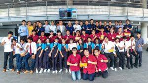นักศึกษา สทป. คว้ารางวัลชมเชยการแข่งขัน KOMA ลูกข่างญี่ปุ่น