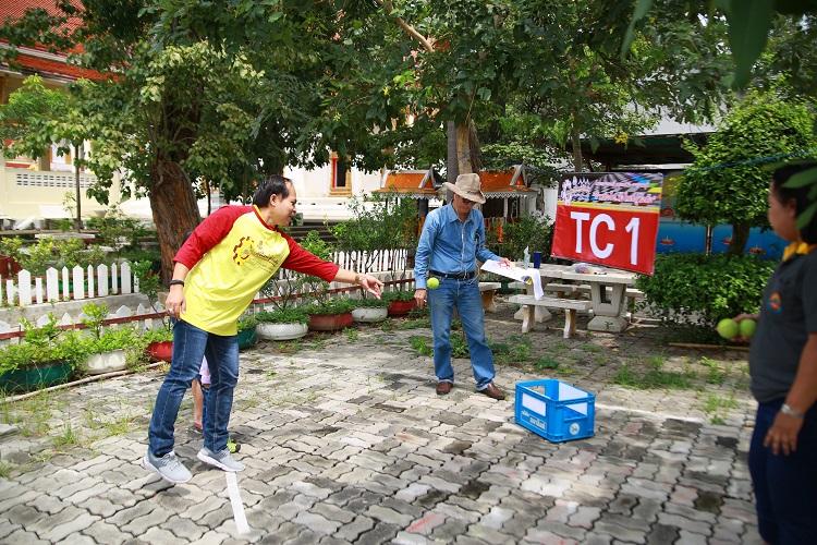 """ภาพกิจกรรมการแข่งขันแรลลี่ประชาสัมพันธ์ปทุมวัน – กาญจนบุรี """"ก้าวต่อไปวังใหม่สู่วังด้ง"""""""