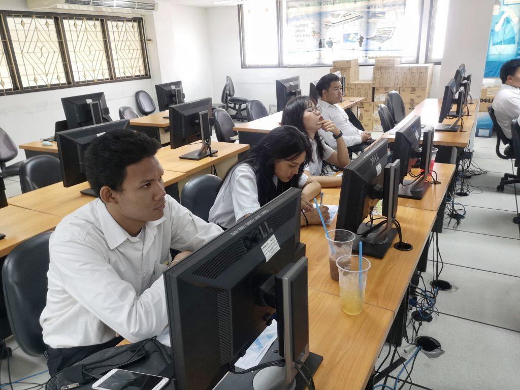 ภาพกิจกรรมอบรมโครงการไอซีทีในยุค Thailand 4.0