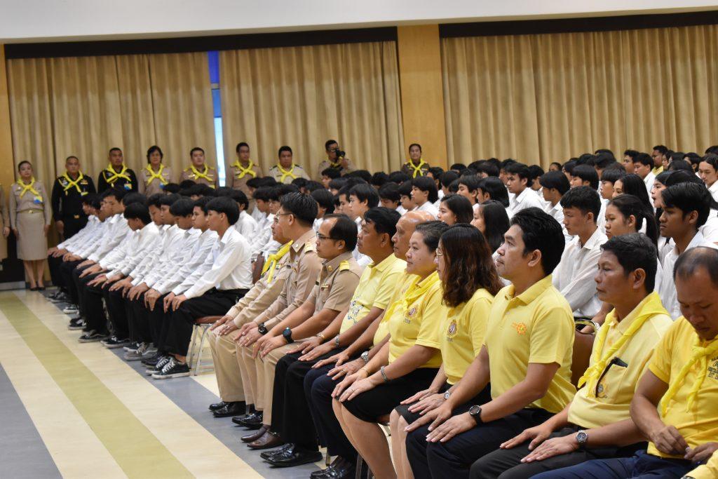 การบรรยายสถาบันพระมหากษัตริย์กับประเทศไทย