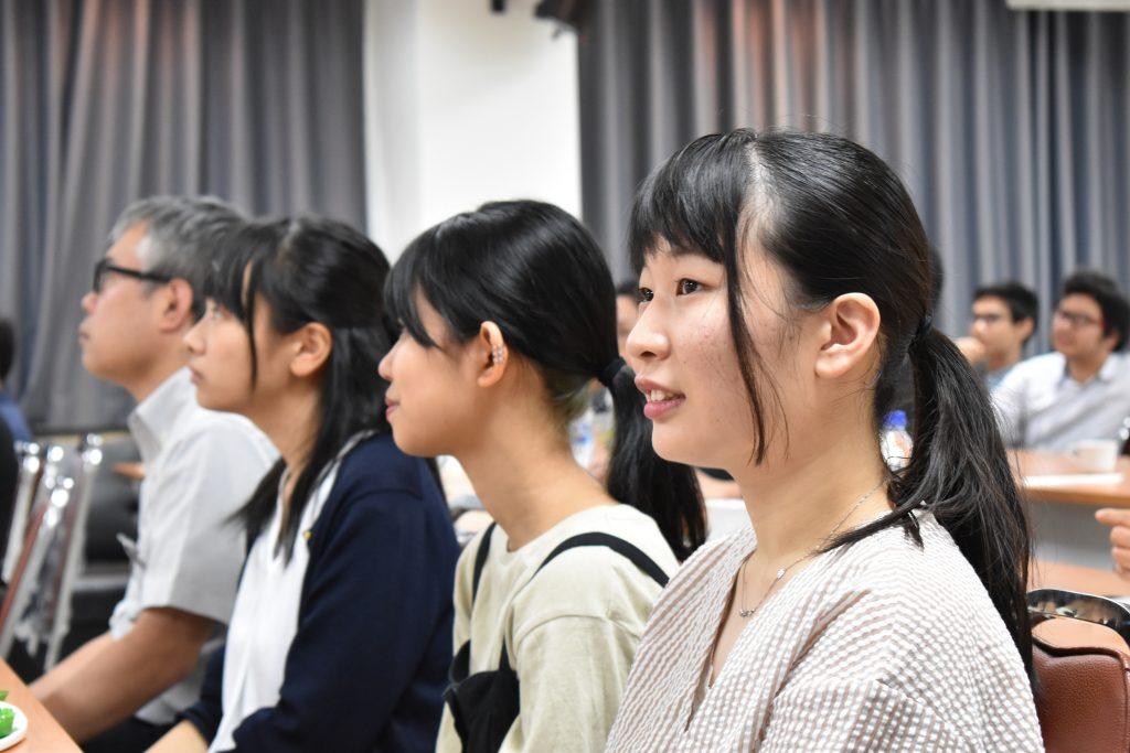 ปทุมวันการต้อนรับอาจารย์และนักศึกษาจากชิโนเซกิ ญี่ปุ่น