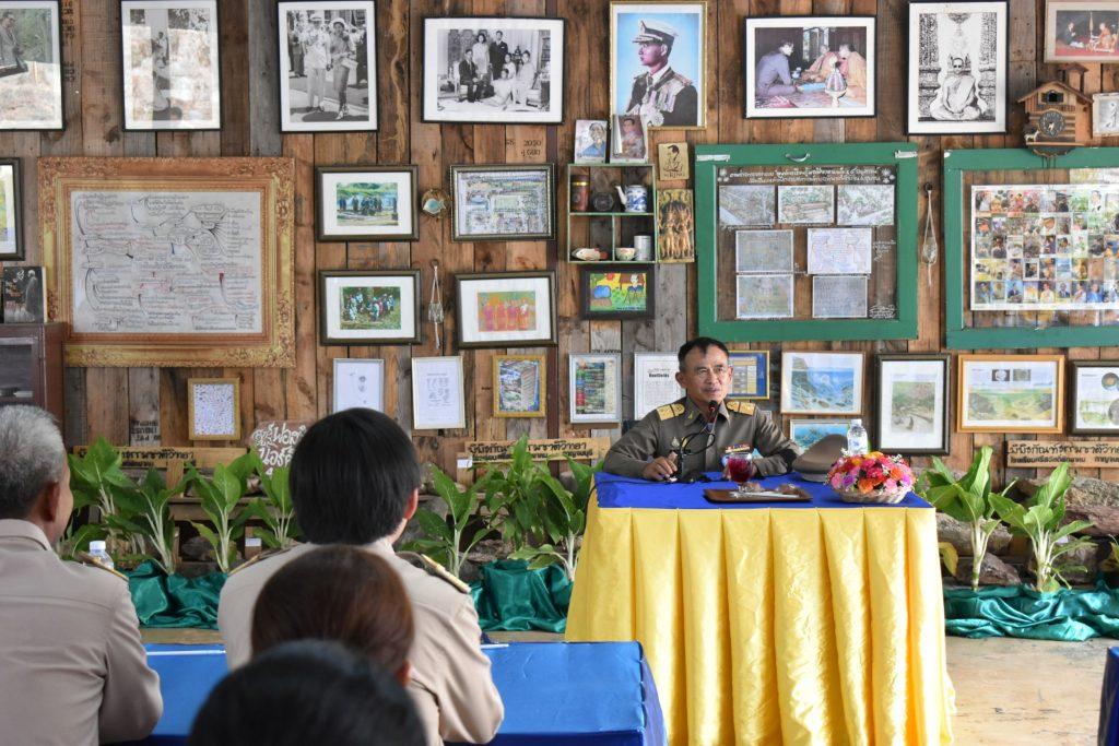 สถาบันเทคโนโลยีปทุมวันร่วมต้อนรับองคมนตรี ณ โรงเรียนศรีสวัสดิ์พิทยาคม กาญจนบุรี
