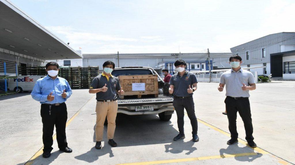 สำนักวิจัยและบริการวิชาการ สถาบันเทคโนโลยีปทุมวัน เข้ารับมอบเครื่อง Automatic Transmission BT50-Pro U6051909B จากบริษัท มาสด้า เซลส์ (ประเทศไทย) จำกัด