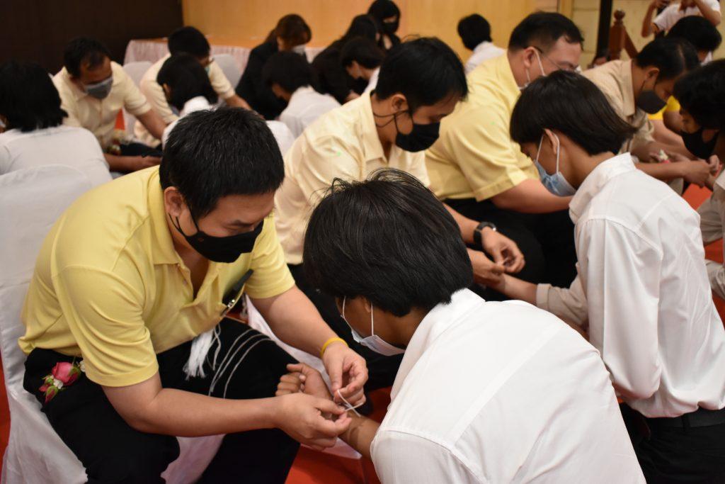 กิจกรรมพิธีไหว้ครู ปีการศึกษา 2563